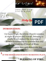 Bishops Homily - Holy Saturday Easter Vigil