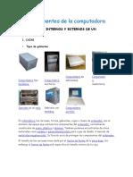 Componentes de Computadora y Creacion de Correo Elctronico Ocultar y Desocultar Carpetas