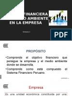 Semana 1.- Función Financiera y Medio Ambiente de La Empresa