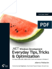 .NET Windows Development - Everyday Tips, Tricks & Optimization - Krasis Press