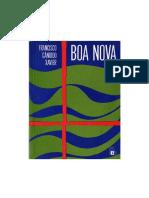 XAVIER, Francisco Cândido - Boa Nova [Humberto de Campos]