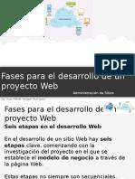 6 Fases Para El Desarrollo de Un Proyecto Web