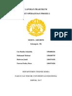 Laporan UOP - Absorpsi Kelompok 9R