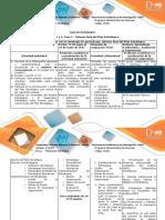 Guia de Actividades y Rúbrica de Evaluación Fase 4 Informe Final Del Plan Estratégico
