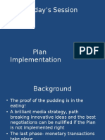 MP 11- Plan Implementation