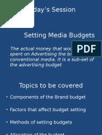MP 9- Setting Media Budgets