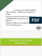 Tema. Análisis y Evaluación Del Riesgo