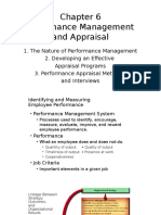 Performance Management and Appraisal