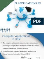 HRM Computer Application