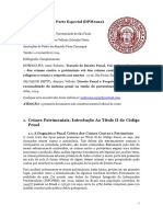 DPM0212 - Direito Penal II - Parte Especial - Prof. Alamiro Velludo - Pedro Camargos (186-24) - Versão 1.0 (11.14)