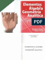 Elementos de álgebra y geometría analítica volumen 2