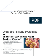 The Basics of Immunotherapy in Cancer in NSCLC Dr. Noorwati