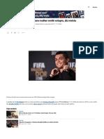 Cristiano Ronaldo Pagou Para Mulher Omitir Estupro, Diz Revista _ VEJA