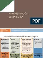 Gerencia Estrategica - 6 - Implementacion y Evaluacion de La Estrategia