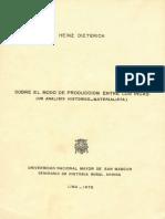 1978 Dieterich Sobre El Modo de Produccion Entre Los Incas