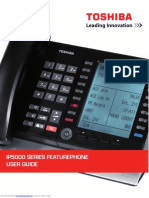 Toshiba IP5000 Series Featurephone User Guide
