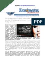 Por Diego Olivera Evia EEUU y Los Medios de Prensa Privada Manipulan a La Sociedad III