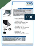 Datasheet Monitor Mazak Control
