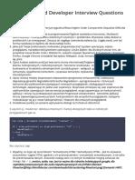 HTML CSS JS Pytania rekrutacyjne