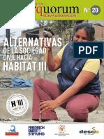 Revista Interquorum Nueva Generación Nro 20