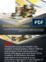 Khalifa Al Saif -Al Saif Motors