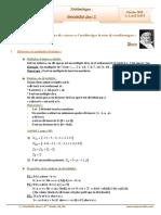 Cours Math - Arithmétique Divisibilité ans Z - Bac Math (2009-2010) Mr Abdelbasset Laataoui Www.espacemaths.com