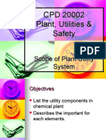 Chapter 1 Scope of Plant Utility System