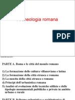 Roma-Formazione Della Città