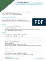 Cours Math - Chap 2 Géométrie Barycentre - 2ème Sciences (2009-210) Mr Abdelbasset Laataoui Www.espacemaths.com
