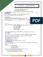 Cours - Math Barycentre Deux Points - 2ème Sciences (2010-2011) Mr Hechmi Ahmed