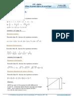 Cours Math - Chap 2 Algèbre Problèmes Du 1er Et 2eme Degré - 2ème Sciences (2009-2010) Mr Abdelbasset Laataoui Www.espacemaths.com