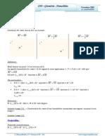 Cours Math - Chap 4 Géométrie Homothétie - 2ème Sciences (2009-2010) Mr Abdelbasset Laataoui Www.espacemaths.com