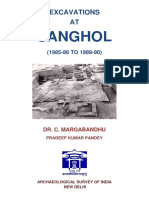 Excavation of  Sanghol, A Vedic  Culture Site
