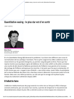 Quantitative Easing _ Le Plus Dur Est d'en Sortir _ Alternatives Economiques