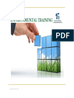 Environmental Training Sustainability