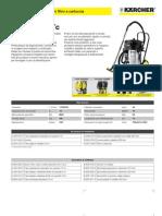 Aspiratore solidi-liquidi Karcher NT 70-3 Me Tc