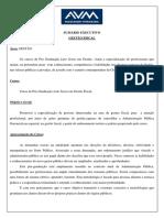 Sec - Pós-preparatório - Gestão Fiscal
