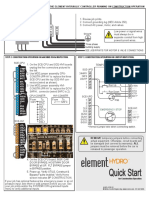 42-QR-1P26 B3 Element Hydro Quick Start