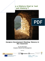 Draft Programme Remembrance Development Workshop Sarajevo 12042017