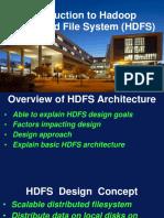 HDFS Intro