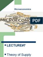 Microeconomics Lecture.7