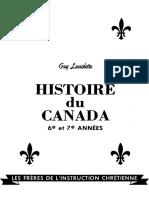 Histoire Canada 6e 7e