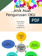 Teknik Pengurusan Oku