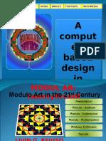 Modulo Art -Computer Based Design