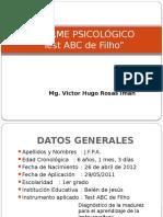Informe Psicológico ABC Filho