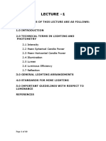 LECTURE 1= Introduction and guidlines