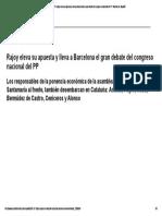 03Congreso Del PP_ Rajoy Eleva Su Apuesta y Lleva a Barcelona El Gran Debate Del Congreso Nacional Del PP