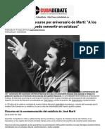 """Che Guevara en discurso por aniversario de Martí_ """"A los héroes no se les puede convertir en estatuas"""" _ Cubadebate.pdf"""