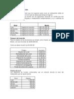 Presupuesto de Inversión y Mas