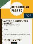 Troubleshooting Pada Pc Komputer